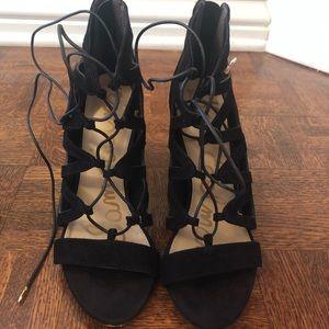 Sam Edelman. Yona black suede sandal